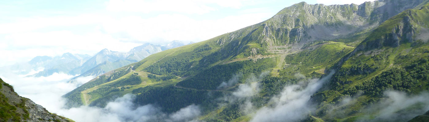 Pyrenees camping